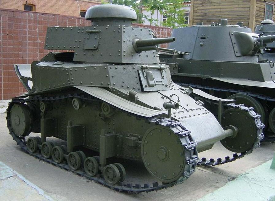 Танк Т-18, общий вид