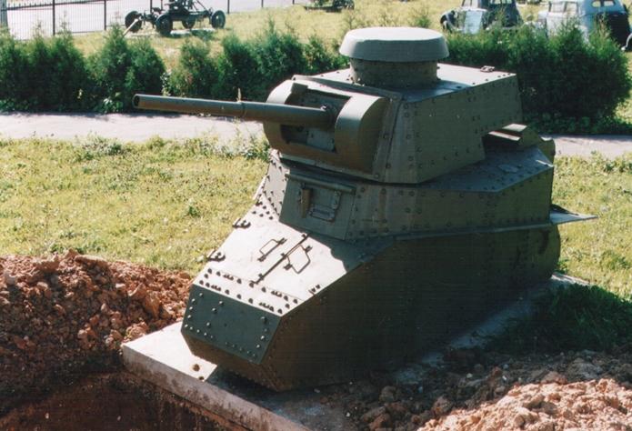 Танк Т-18 без гусениц