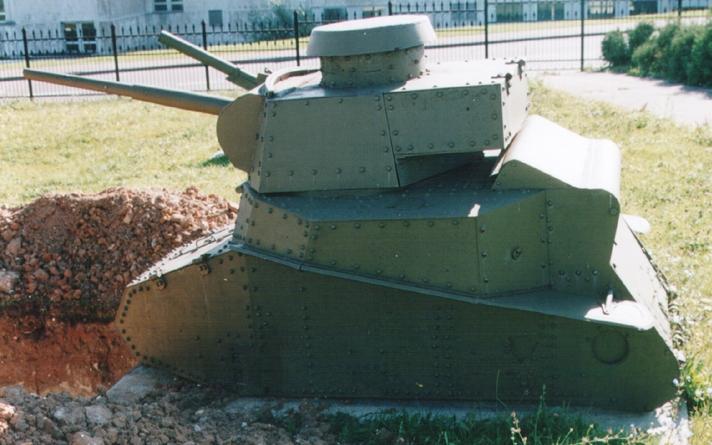Танк Т-18, бронирование танка