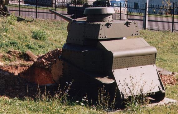 Танк Т-18, бронирование моторного отсека