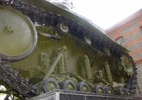 ходовая часть танка Т-18