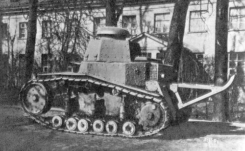 Танк Т-18, фото