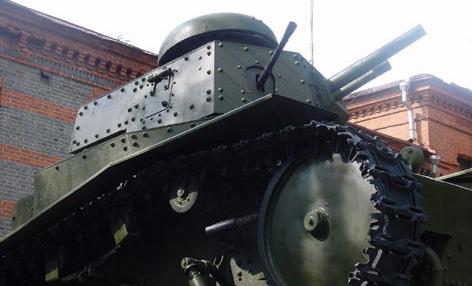 Танк Т-18, подвеска