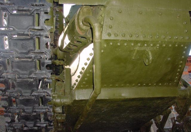 Танк Т-18, днище