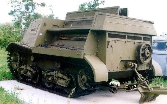 Танк Т-20, запасной каток