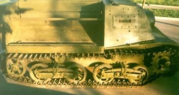 Танк Т-20, вид справа