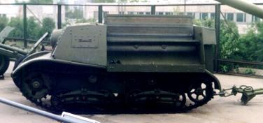 Танк Т-20, вид слева