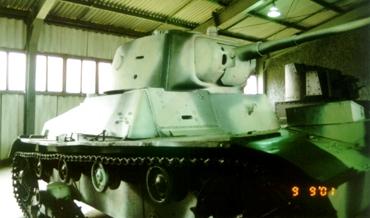 Танк Т-26, правая сторона
