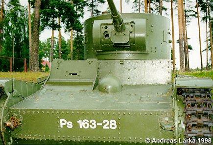 Танк Т-26 на службе у немцев