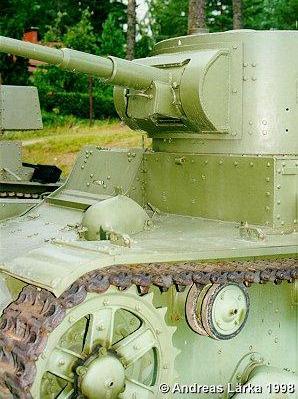 Танк Т-26, пушка