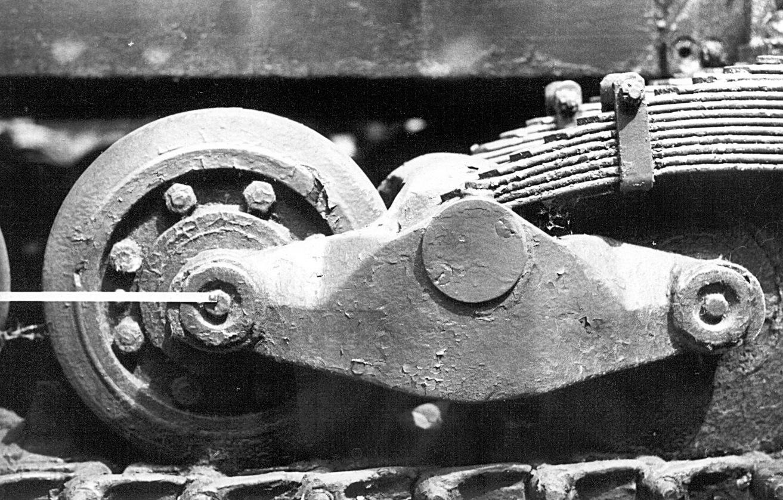 Танк Т-26, колёсная тележка