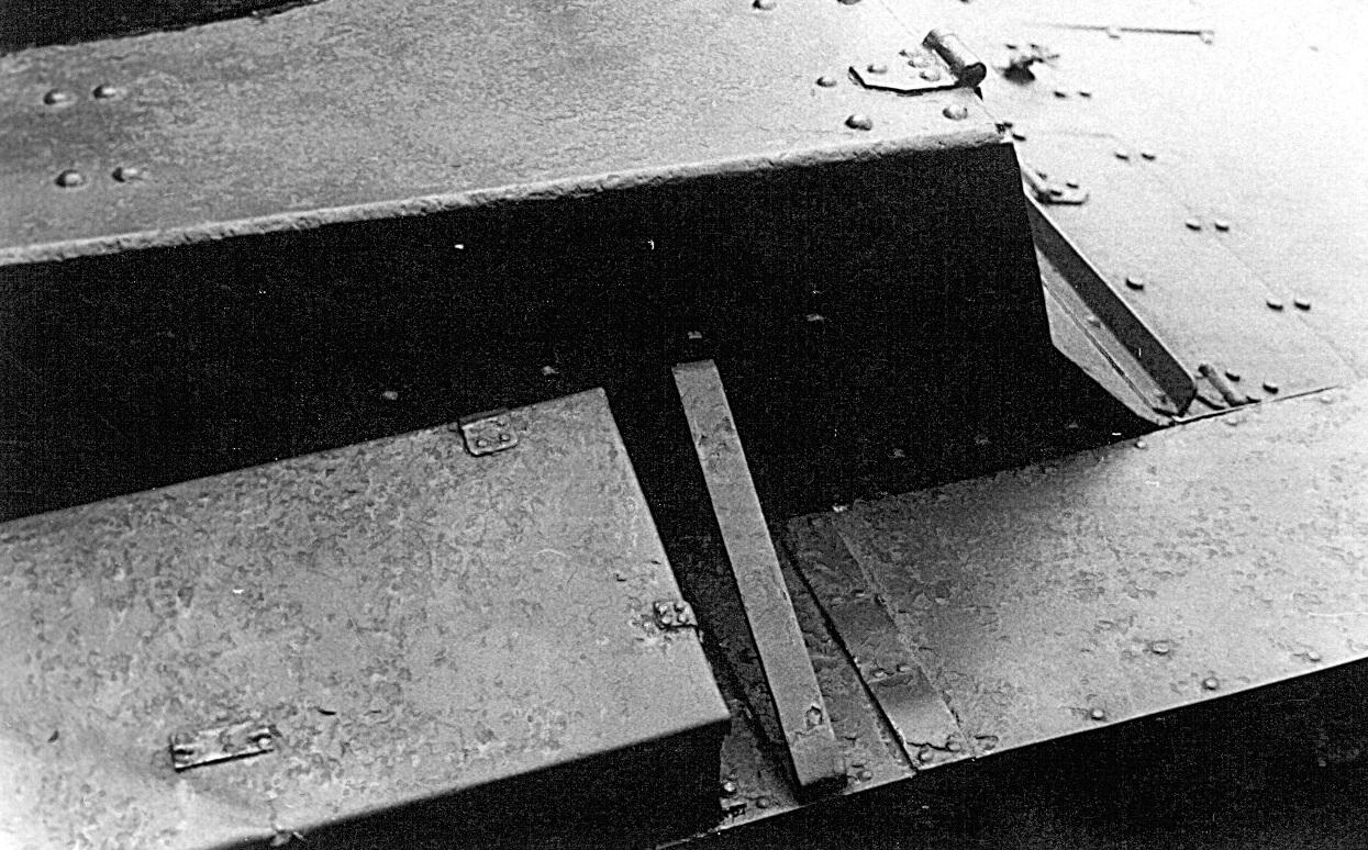 Танк Т-26, детали корпуса