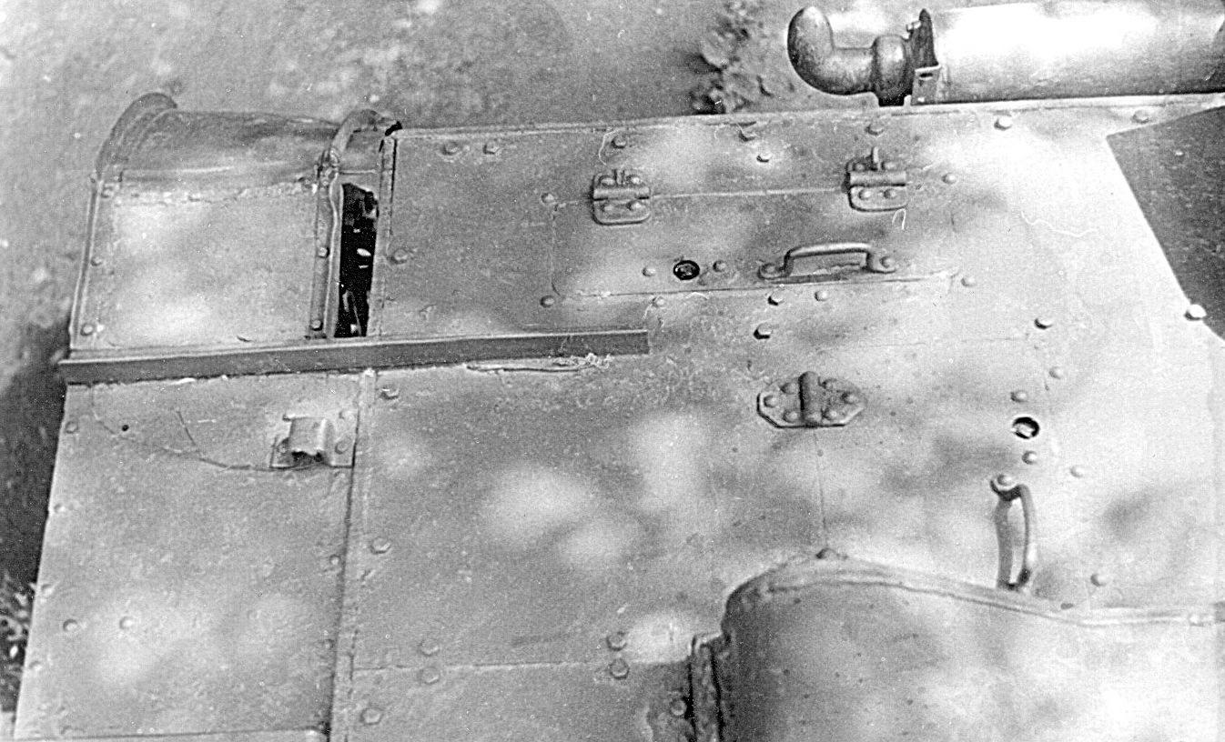 Танк Т-26, подробности