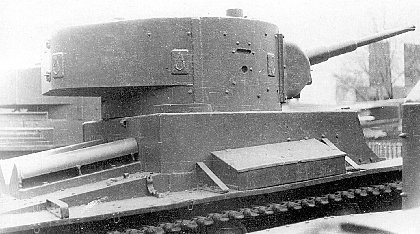 Танк Т-26, башня от БТ-5