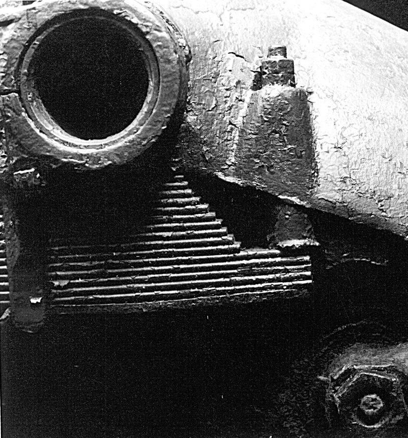 Танк Т-26, пакет рессор