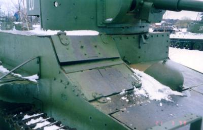 Танк Т-26, бронирование передней части танка