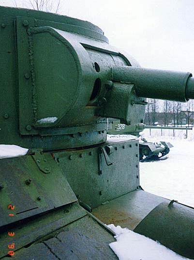 Танк Т-26, пушка танка