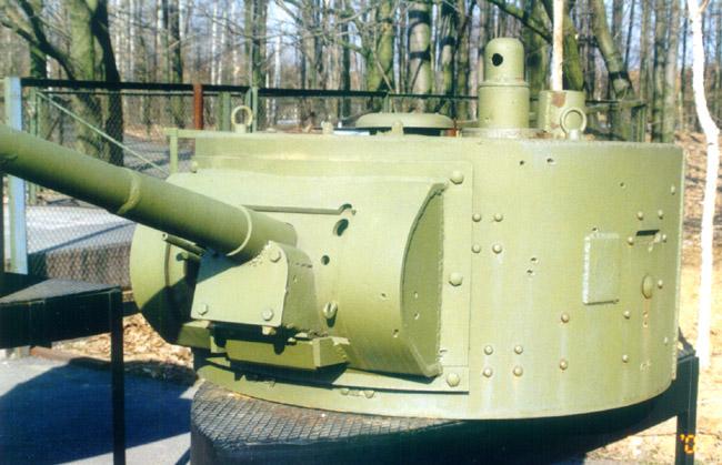 Танк Т-26, башня