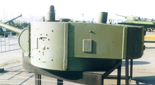 Танк Т-26, задняя часть башни