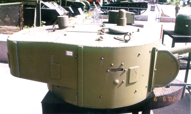 Танк Т-26, башня, вид справа