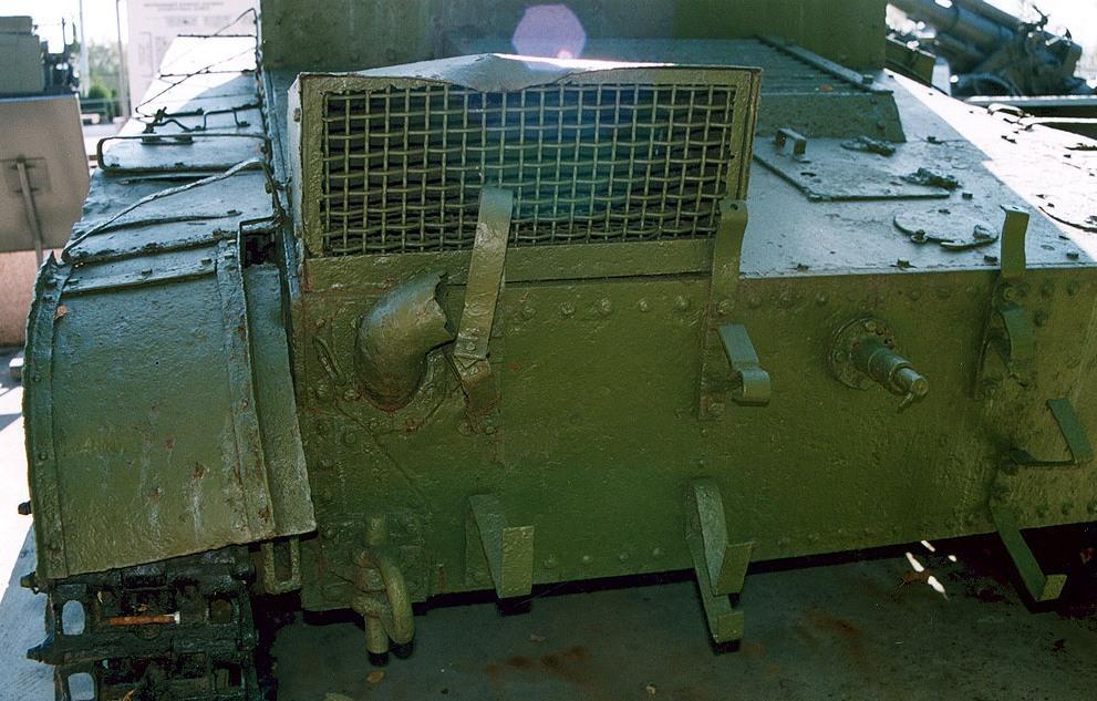 Танк Т-26, задний броневой лист