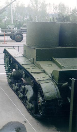 Танк Т-26 на выставке