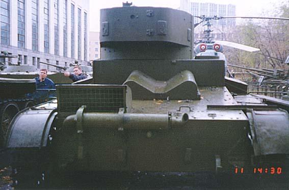Танк Т-26, глушитель