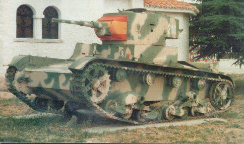 Танк Т-26, камуфляж