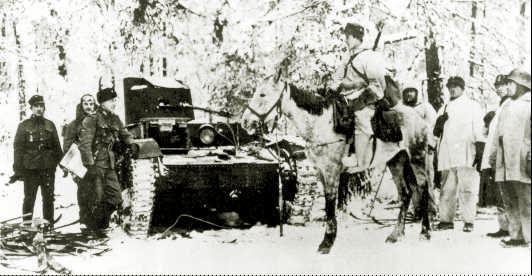 Танк Т-26 на войне