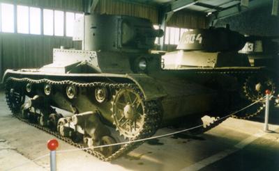 Танк Т-26 в музее
