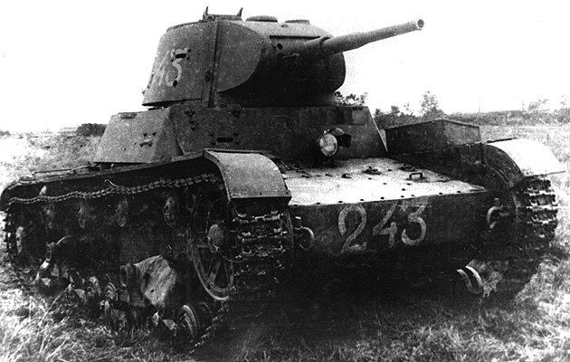 Танк Т-26, номер 243