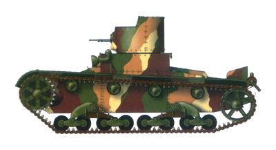 Танк Т-26, схема окраски, камуфляж