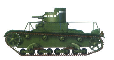 Танк Т-26, схема окраски