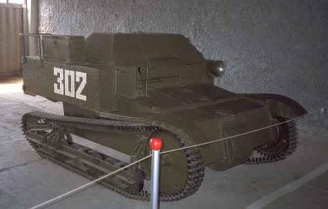 Танк Т-27 в музее