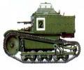 танк Т-27, схема окраски, вид сбоку