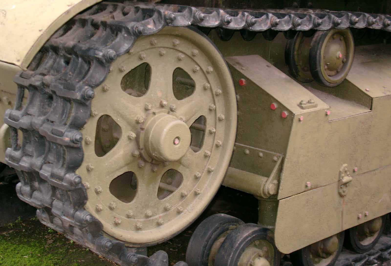 Танк Т-28, ленивец