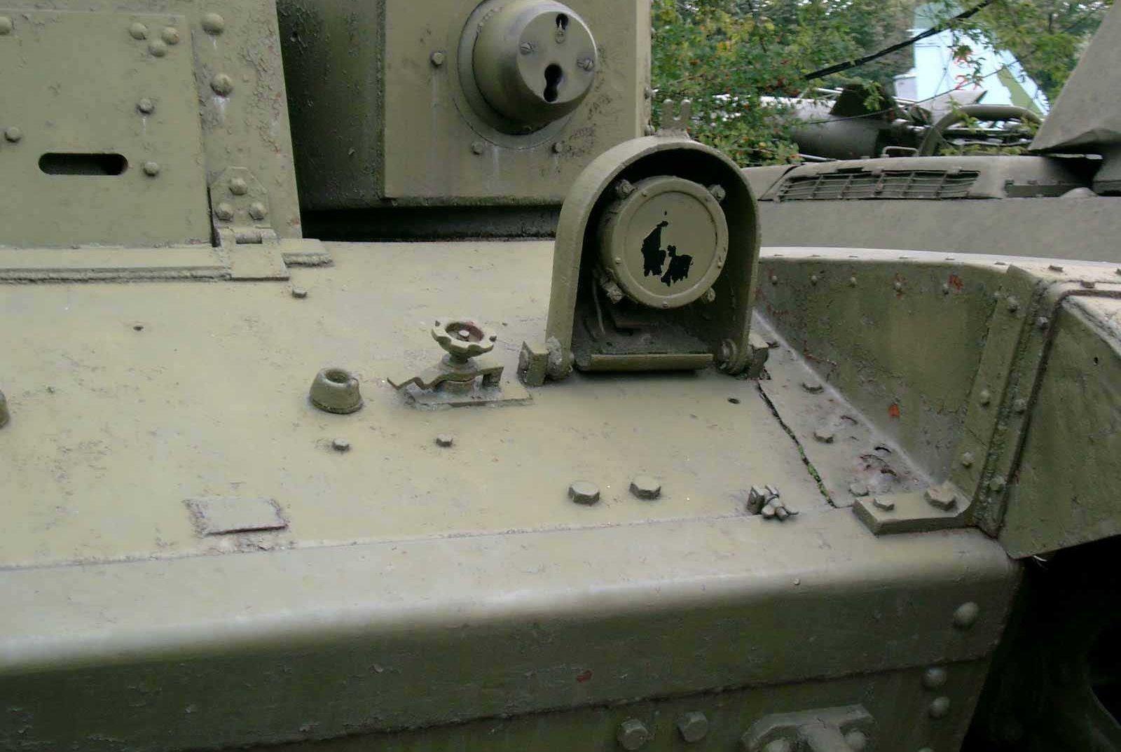 Танк Т-28, фара