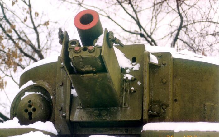 Танк Т-28, пушка