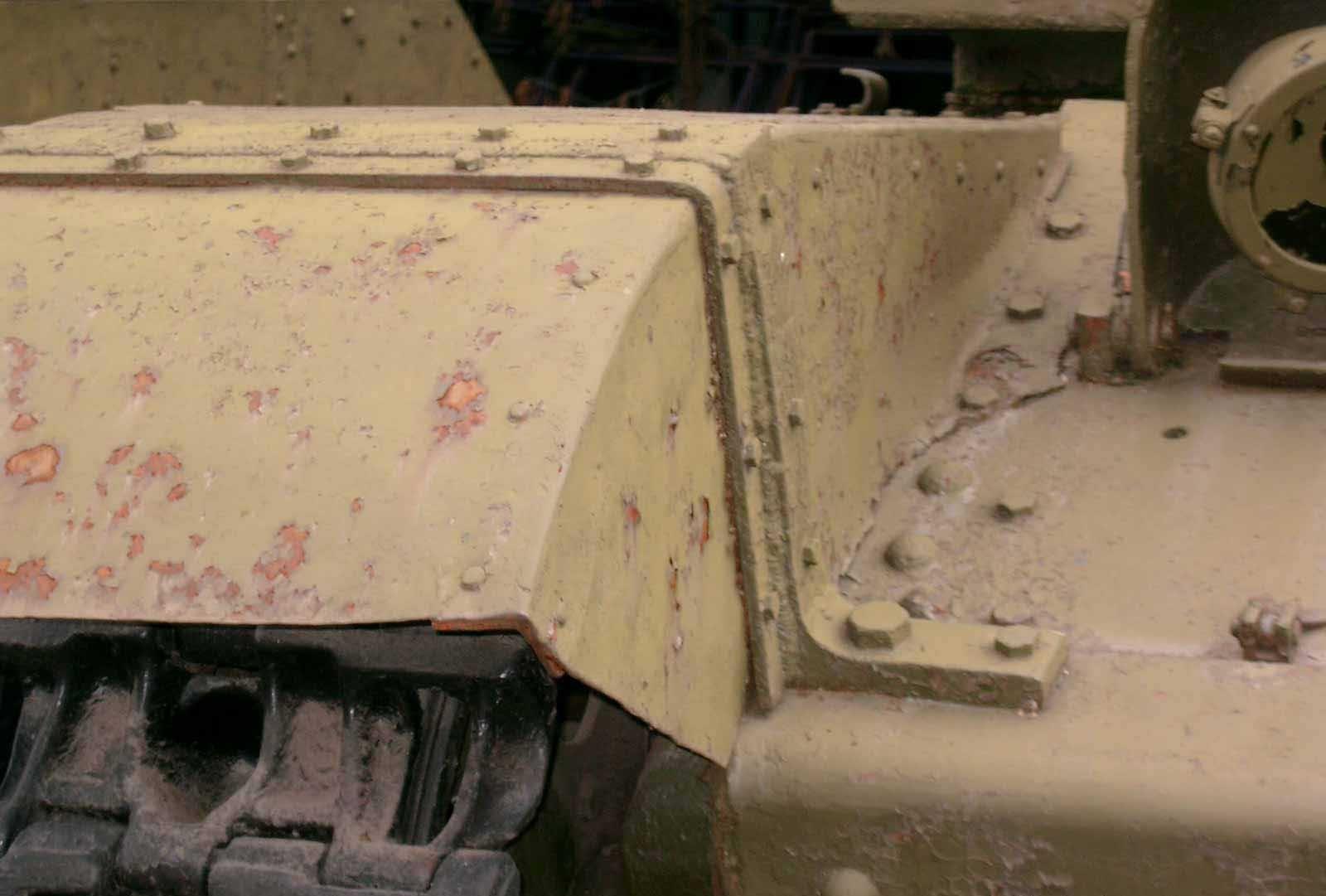 Танк Т-28, защита гусеницы