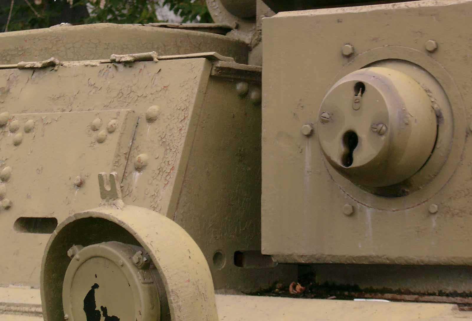 Танк Т-28, пулемётная башня