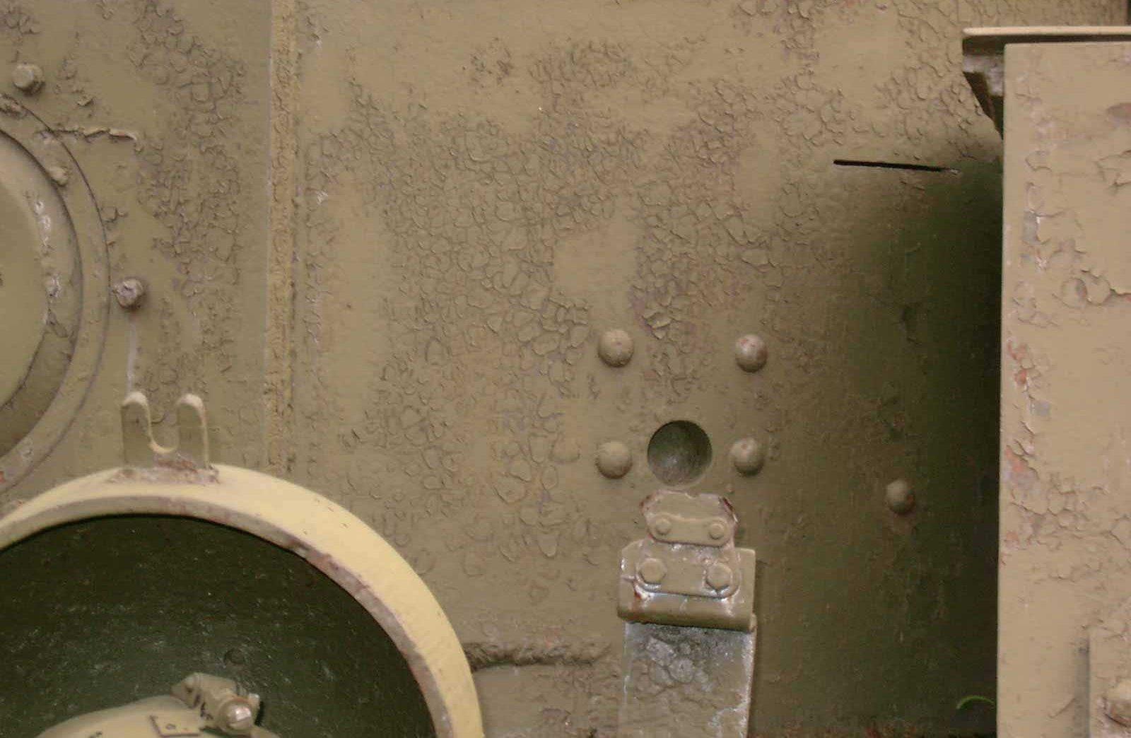 Танк Т-28, башня