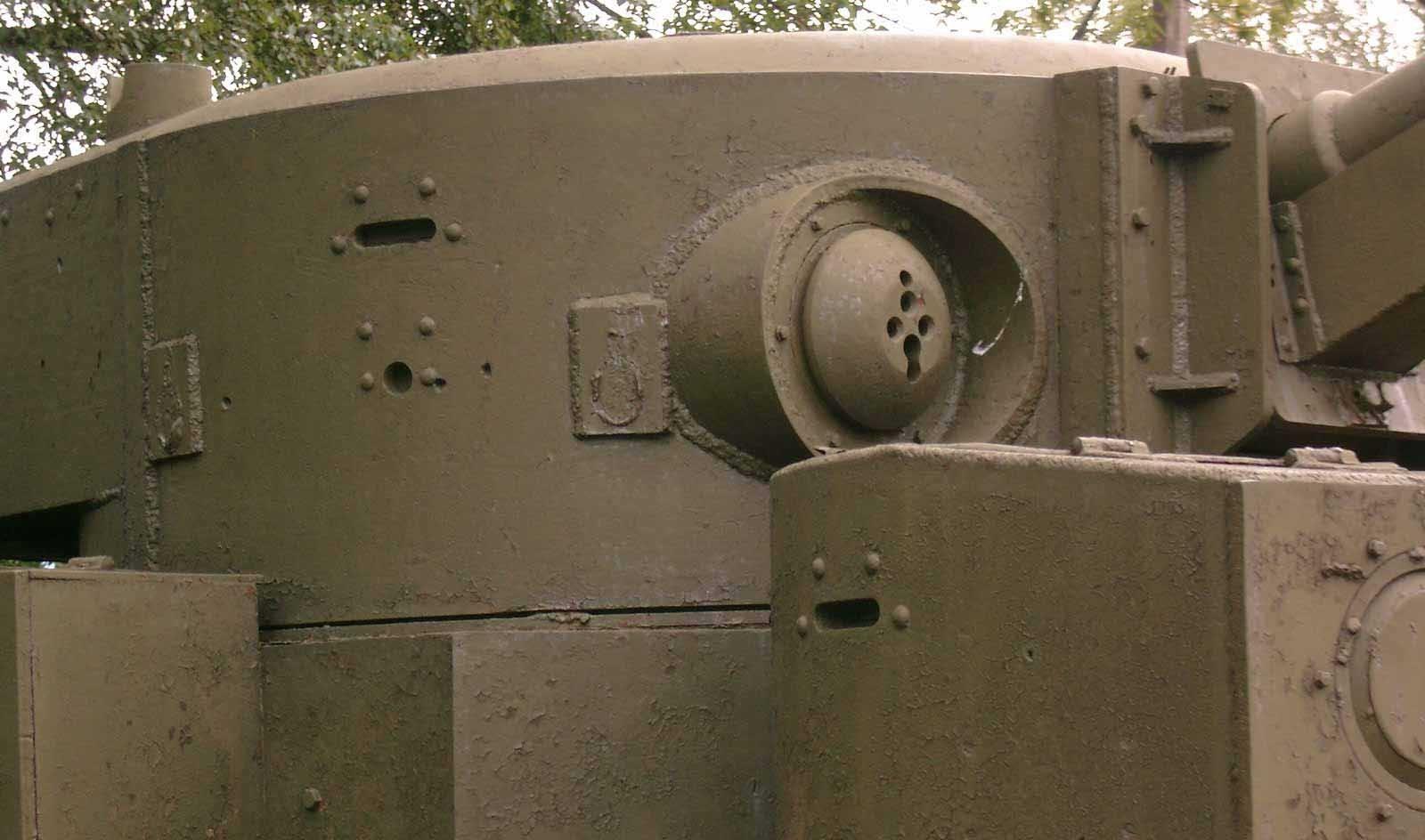Танк Т-28, башня, вид справа