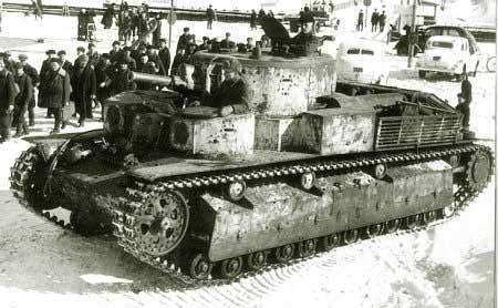 Танк Т-28, документальная фотография