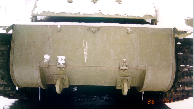 Танк Т-28, вид сзади