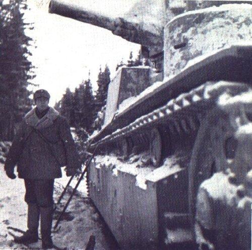Танк Т-28, подготовка к бою