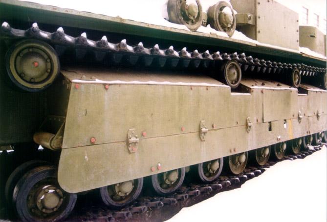 Танк Т-28, ходовая часть