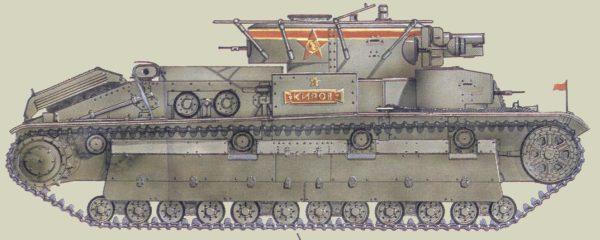 Танк Т-28, киров