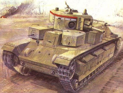 Танк Т-28, рисунок