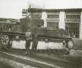танк Т-28 в городе