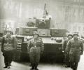 танк Т-28, парад